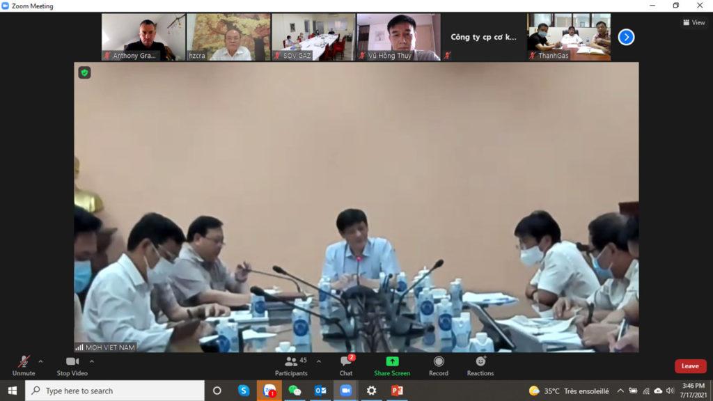 Cuộc họp của Bộ Y tế
