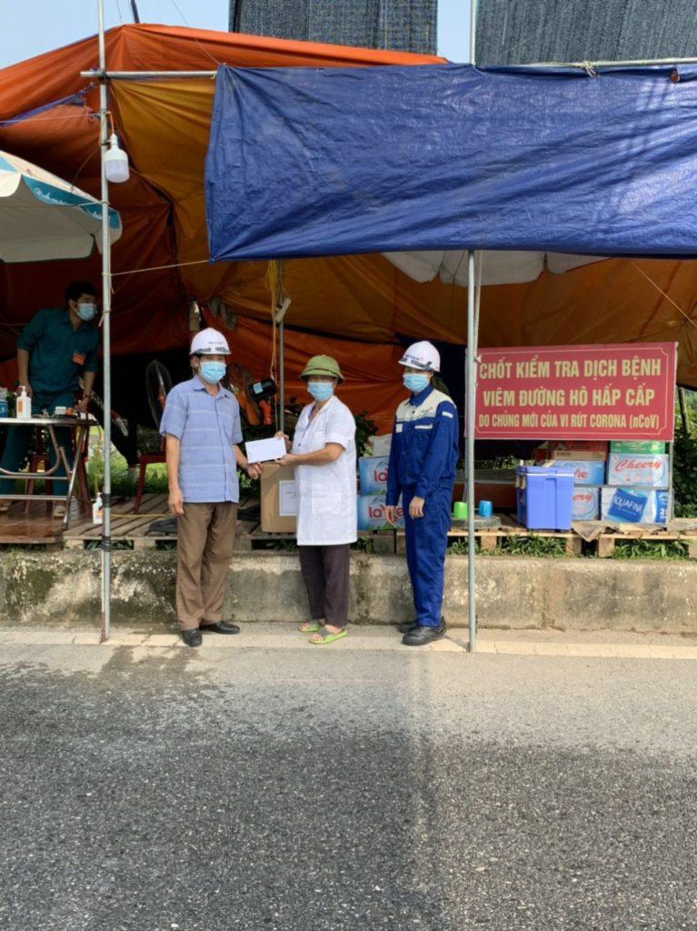 chốt kiểm dịch tại Thái Nguyên